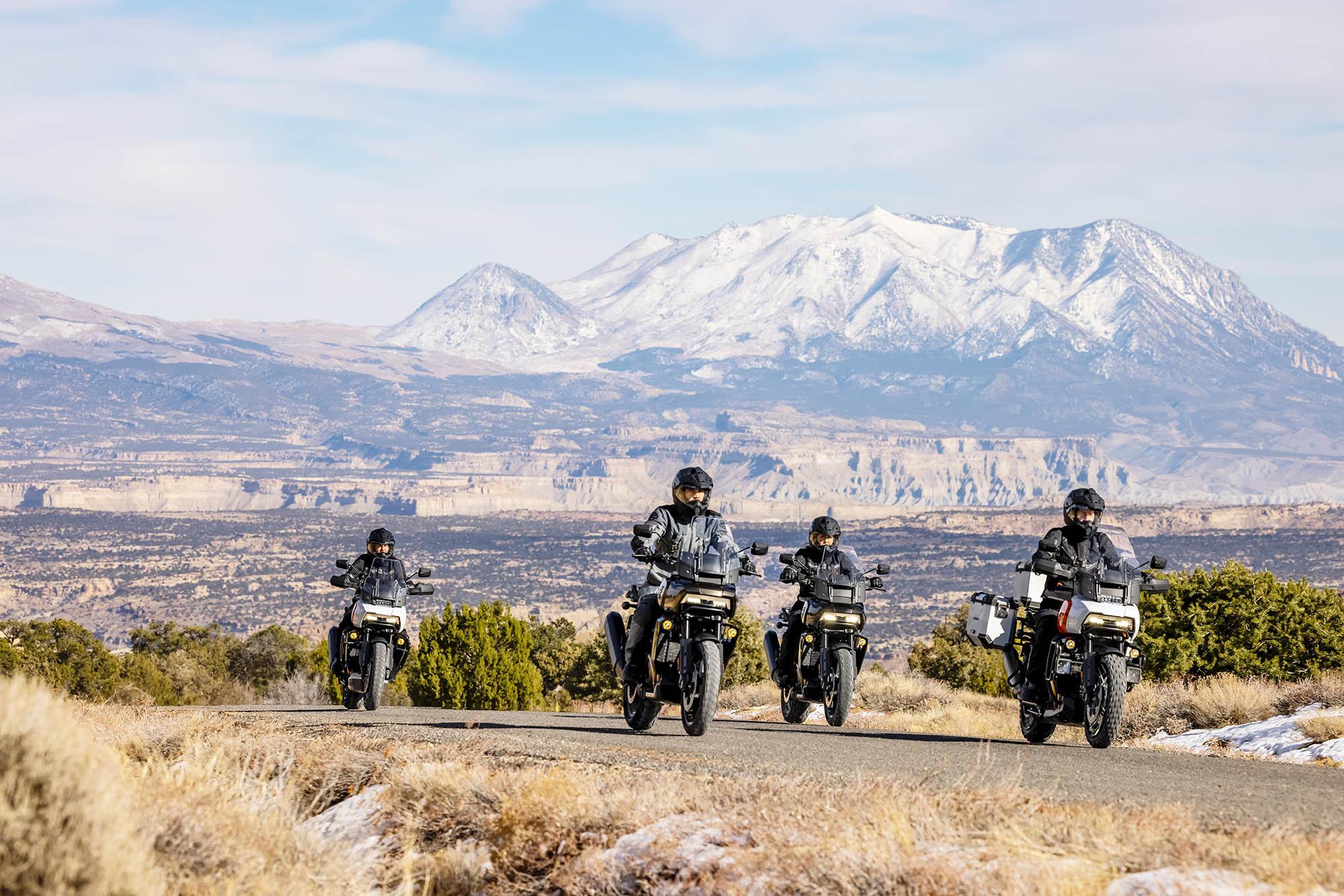 Harley Adventure bikes