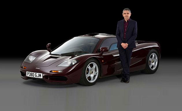 Celebrity Car Collector Rowan Atkinson Carole Nash