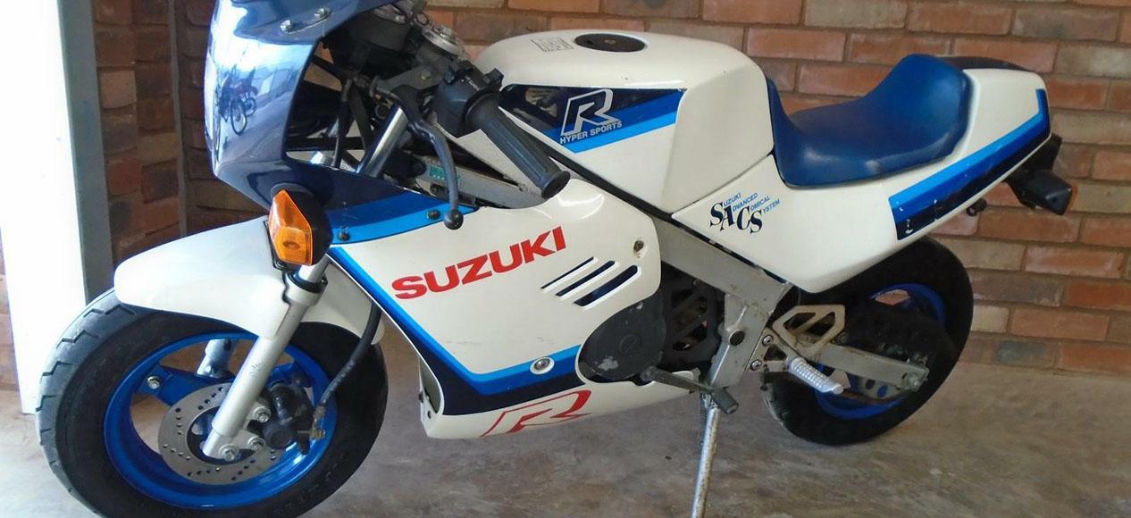 1987 Suzuki Rb50 Gsx-r50 Gag Bike Gsx-r Gsxr Rb 50 - Used